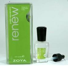 New ZOYA Renew Nail Polish Rejuvenator Thinner Drops With Dropper .5 oz ... - $11.32