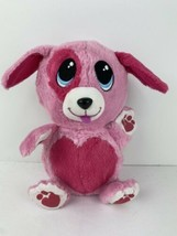 Fur Berries Hidden Plush Strawberry Spaniel Pink Dog Folds Into Ball Furberries - $17.81