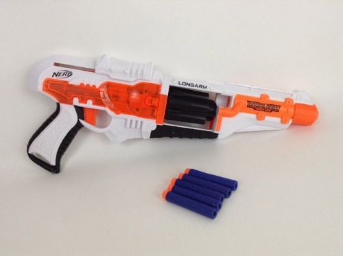 12. 12. Hasbro 2015 Nerf Gun Doomlands ...