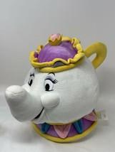"Disney Store Mrs Potts Plush Beauty & the Beast 10"" Tall Stuffed Teapot Toy - $14.85"