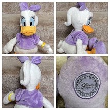 "Daisy Duck Disney Store Authentic Original Plush Toy 16"" Tall Displayed - $19.69"