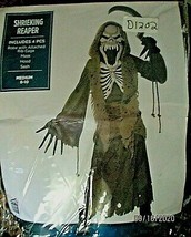 Halloween Suit Yourself Shrieking Reaper Costume Boys M 8 -10 NEW 4 pc - $34.64