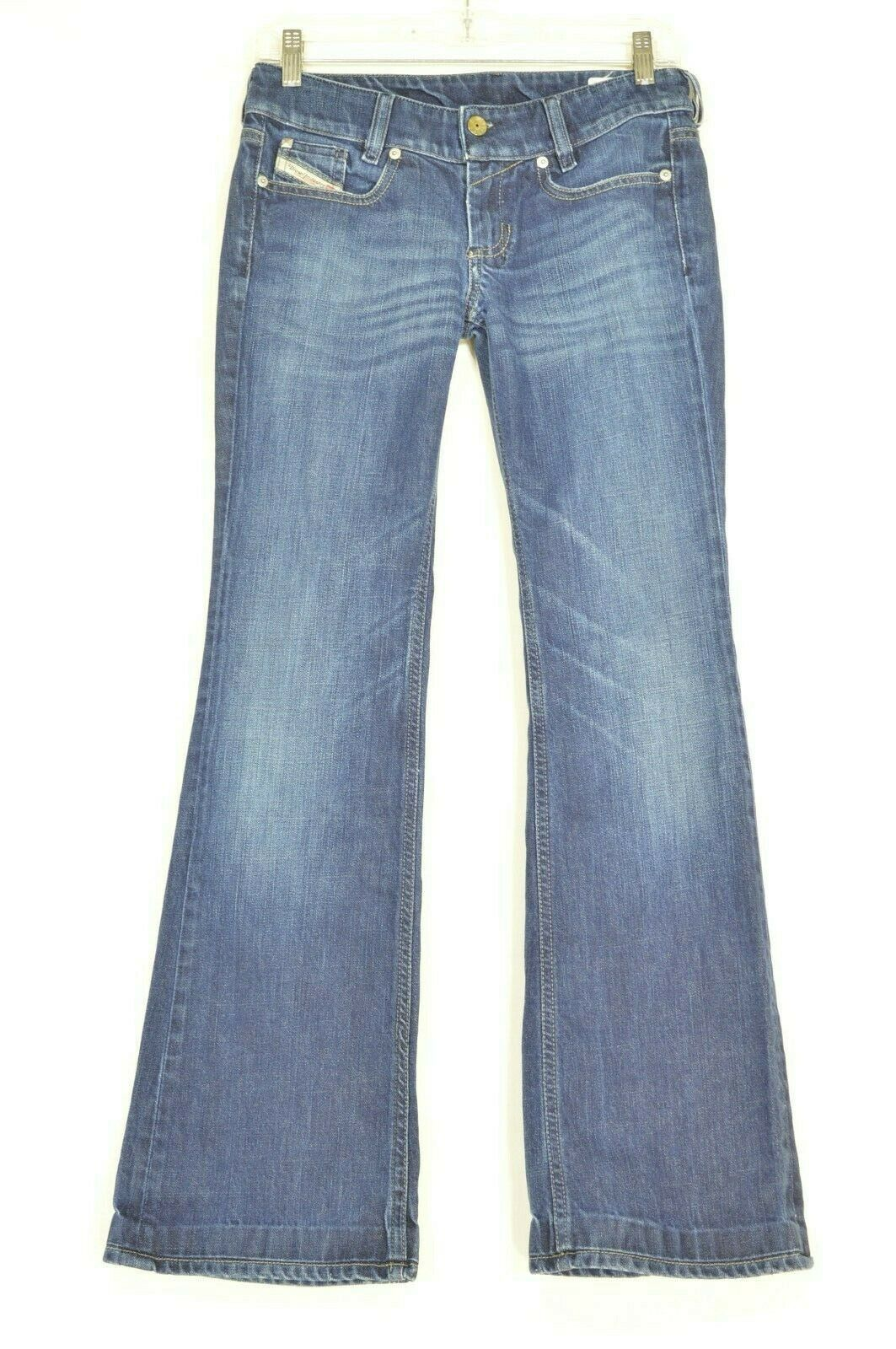 Primary image for Diesel jeans 26 x 32 Louvely dark straight leg slight flare Italy