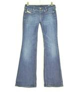 Diesel jeans 26 x 32 Louvely dark straight leg slight flare Italy - $29.69