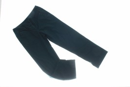 Willie Smith Womens Pants 6 Pitch Black Wide Leg Casual Pants Tight Fitted - $25.73