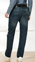 Levi's 501 Men's Original Fit Straight Leg Jeans Button Fly Blue 501-2166 image 2