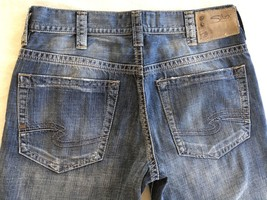 SILVER Jeans Sale Buckle Drake Relaxed Straight Leg Jean Shorts Crops 33... - $718,16 MXN
