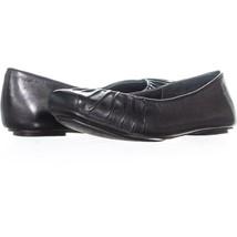 Jessica Simpson Emmly Slip On Ruched Ballet Flats 151, Black, 5.5 US / 35.5 EU - $30.71