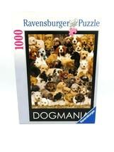 Ravernsburger Jigsaw Puzzle Dogmania 1000 Pieces - Complete - $24.70