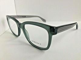 New Versace Mod. 3932 Clear Green 54mm Men's Eyeglasses Frame Italy #9 - $149.99
