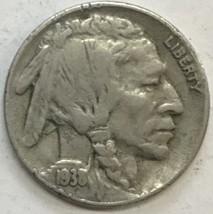 1938-D  BUFFALO NICKEL  GREAT COIN  FINE CONDITION     #242 - $3.56