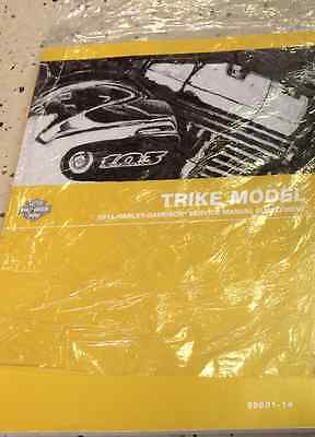 Primary image for 2014 Harley Davidson TRIKE Models Service Shop Repair Manual Supplement NEW