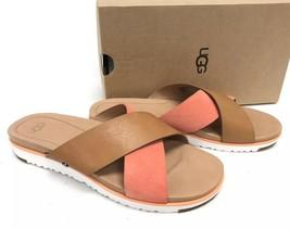 UGG Australia Women's KARI Sandal FUSION CORAL Chestnut 1090383 Slip On ... - €72,21 EUR