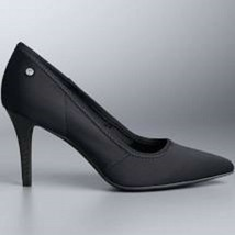 Simply Vera Vera Wang Stevie Women's High Heels Black US Size 9 M - $69.99
