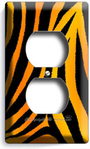 Wild Bengal Tiger Stripes Skin Print Outlet Wall Plates Bedroom Room Home Decor - $8.99