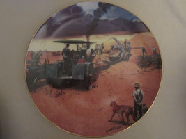 BEATING THE STORM collector plate EMMETT KAYE Farming the Heartland STEA... - $14.99