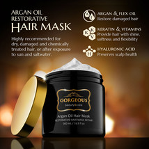 Gorgeous !  Argan Oil Hair Mask RESTORATIVE HAIR MASK REPAIR - $49.19