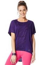 Mujer Zumba Fitness Peep My Devoré Camiseta - $9.89+