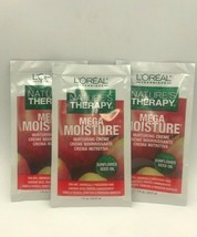 3 Packs Of L'oreal Nature's Therapy Mega Moisture Nurturing Creme 1 Fl Oz Each - $4.94