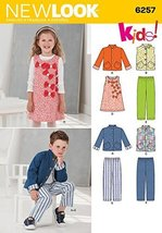 Simplicity Creative Patterns New Look 6257 Child's Jacket or Vest, Jumpe... - $12.74