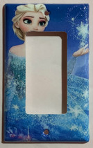 Frozen Elsa snow star Light Switch Toggle Rocker Duplex Outlet wall Cover Plate  image 3