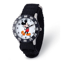Disney Kids Mickey Mouse with Moving Arms Time Teacher Watch - $43.00