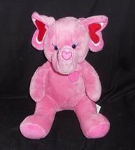 Construction bear tons of love red rose heart elephant plush animal babw - $21.19