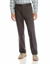 Dockers Men's Comfort Khaki Stretch Relaxed-Fit Pant, Steel Head 34W x 29L - $29.99