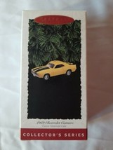Hallmark Keepsake Ornament 1969 Chevrolet Camaro Vintage 1995 5th Series... - $13.86