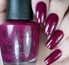 OPI Alice ~WHAT'S THE HATTER WITH YOU?~ Burgundy Purple Nail Polish Lacq... - $10.33