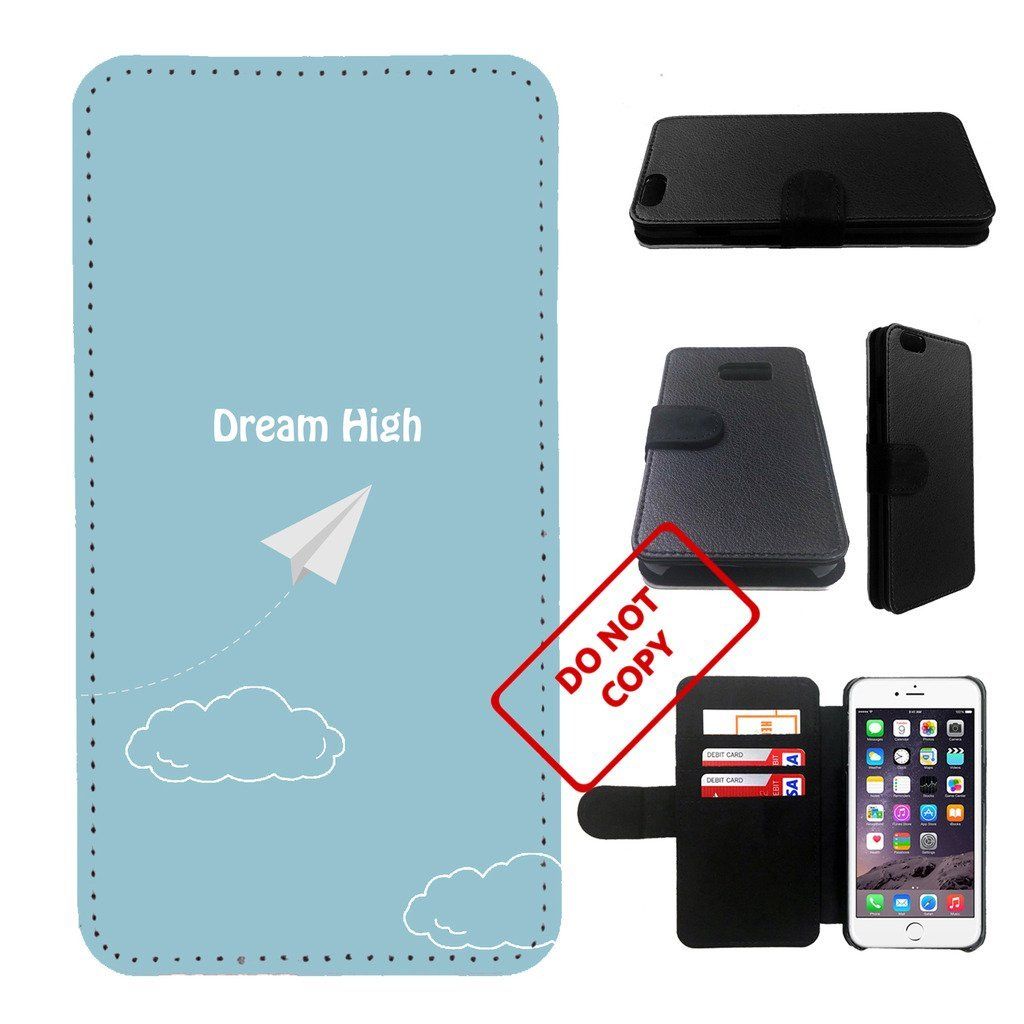 Airplane Iphone 6s PLUS wallet leather case, iphone 6s plus wallet case, iphone