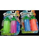 World of Nintendo Splatoon Splattershot Refill 4 Pack Green Purple Red B... - $18.80