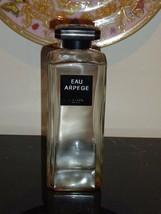 """Vintage Huge Lanvin Arpege Perfume Bottle 7.5"""" Tall - $90.00"""