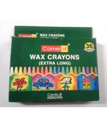 Crayons  Wax Crayons  36 Shades  Camlin Kokuyo  Camel Wax Crayons - $10.07