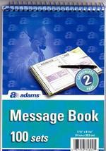 "Message Book - 5.5"" x 8"" 30 pcs sku# 1301670MA - $68.90"