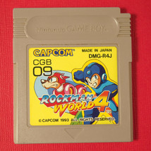 Rockman World 4 (Nintendo Game Boy GB, 1993) Japan Import ~ Megaman - $14.97