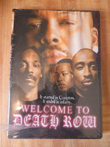 DVD Welcome to Death Row Dr. Dre, Snoop Dogg Tupac (EC1) - $4.99