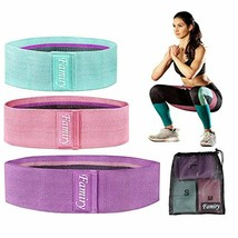 Hip Circle Resistance Band Fitness Loop Elastic Booty Legs Exercise Band... - $16.05