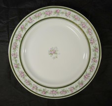 Antique Imperial China Austria Large Round Platter * Roses Green Gold - $30.36