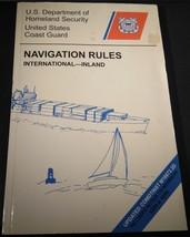 Navigation Rules International Inland U.S. Coast Guard Research and Deve... - $0.99