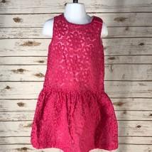 Girl's Gymboree Dressed Up Pink Lace Dress, EUC, 4T (K5119) - $18.32