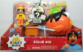 Ryan's World Rollin' Moe Vehicle & Action Figure Mystery Toy pocket.watch - $17.81