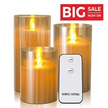 Kithouse LED Flameless Candles Battery Operated Candles Flickering Elect... - $20.06