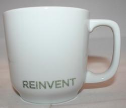 Starbucks Coffee 2009 Reinvent White Coffee Tea Mug Cup By / Per Toki Japan 16oz - $23.42