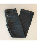 White House Black Market Bootcut Blanc Size 0 R Medium Wash Stretch Jeans - $15.79