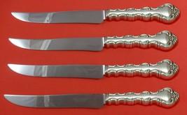 Impresario by Oneida Sterling Silver Steak Knife Set 4pc Texas Sized Custom - $247.10