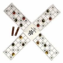 Ancient Living Pachisi / Ludo / Indian Ludo / chausar / Indian Board Game - $16.47
