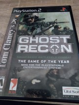 Sony PS2 Tom Clany's Ghost Recon image 1