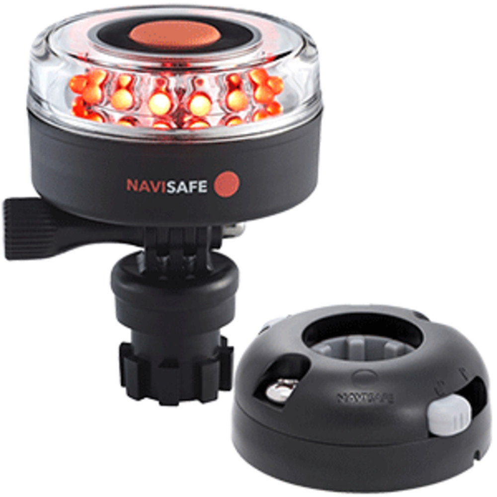 Primary image for Navisafe Navilight All RED 360 and deg; 2NM w/Navimount Base and amp; Horizontal