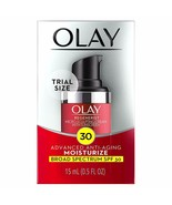 Olay Regenerist Micro-Sculpting Cream Face Moisturizer with SPF 30, Tria... - $10.39